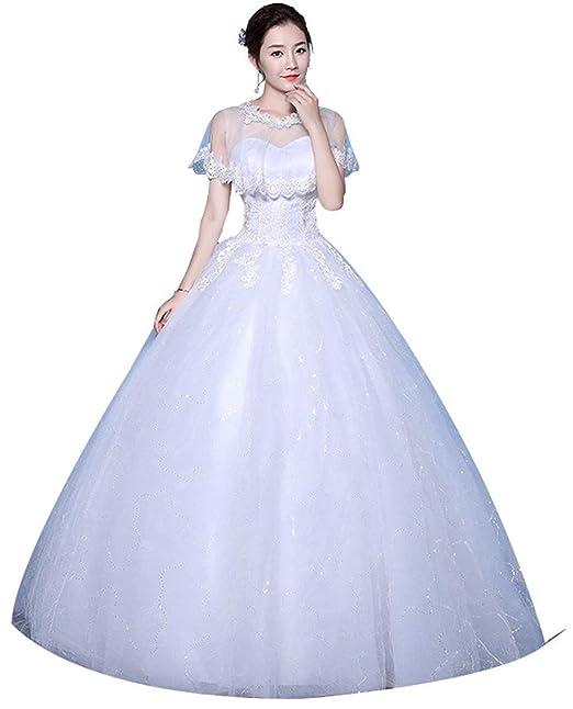 Amazon.com: Clover - Vestido de novia para novia de color ...