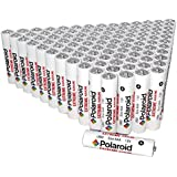 Polaroid Extreme AAA Alkaline Batteries Bulk Size Wholesale Family Pack (100-Pack)