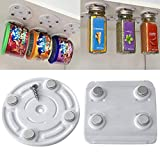 LtrottedJ CanLoft Magnetic Canned Food Hangers Magnetic Save Space In Your Pantry Strong