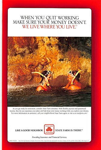 Print Ad 2003 State Farm Insurance With Flexible Payouts   Guaranteed Income