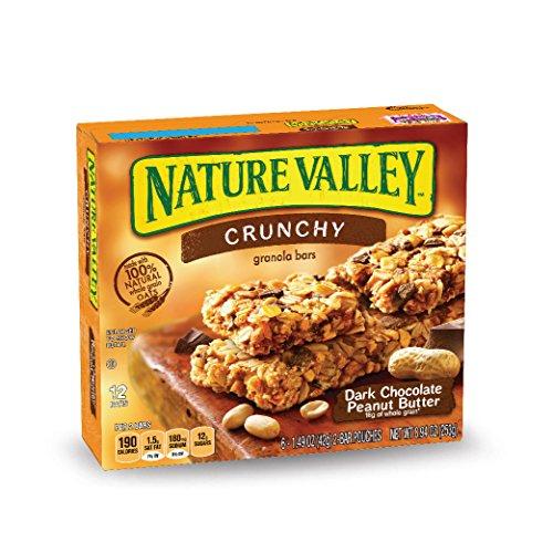 - Nature Valley Peanut Butter Dark Chocolate Crunchy Granola Bars, 8.94 oz(us)
