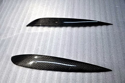 Carbon Eyelids (Carbon Fiber For HONDA Integra DC5 Eyebrow Eyelid Headlight Panel Trim Moulding Pair)