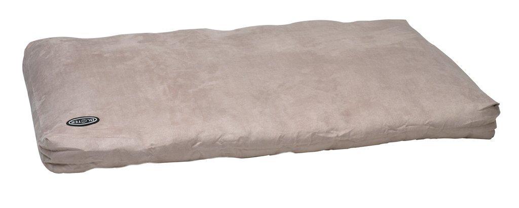 Beige 39 in x 27.5 inBuster Memory Foam Dog Bed, 100 x 70 cm, Grey