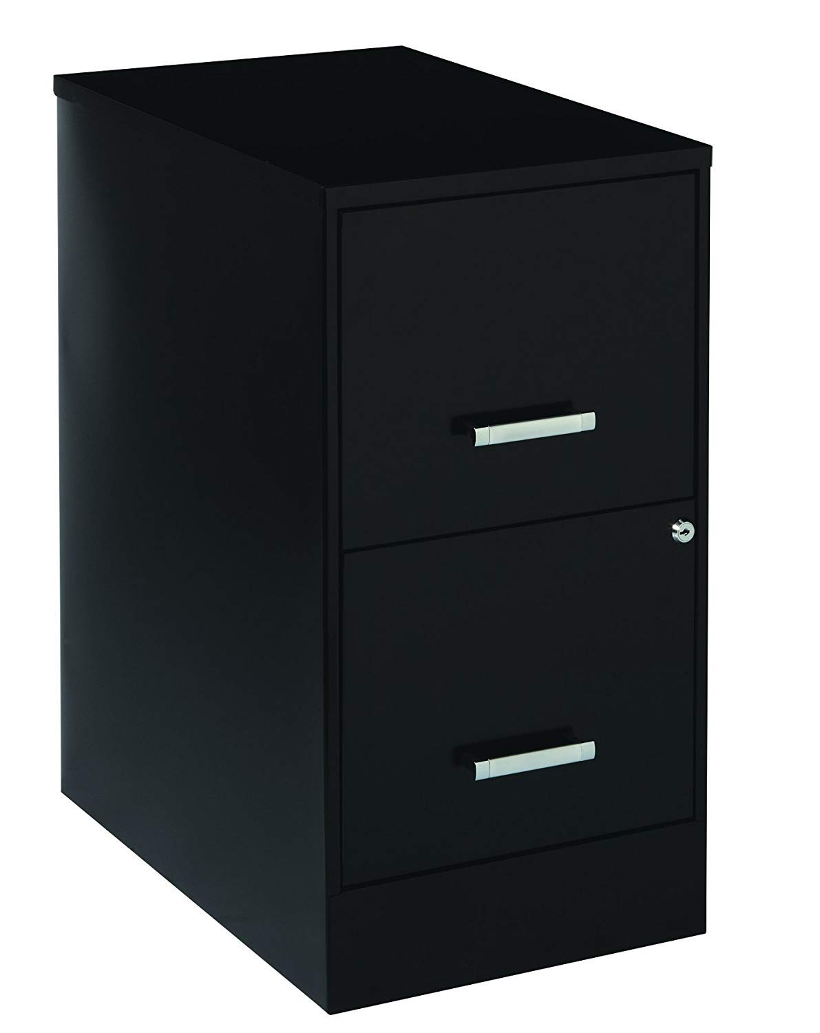 Space Solutions 20226 File Cabinet, 22-Inch Black (1-Unit)