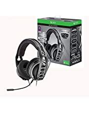 Plantronics Gaming Headset, RIG 400LX Gaming Headset for Xbox One with Prepaid Dolby Atmos® Activation Code and LX1 Adapter Included