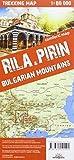 terraQuest Trekking Map Rila and Piryn