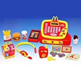 2008 McDonald's McKids Electronic Cash Register Set with Bonus 10 Piece Play Set Toys R Us Exclusive