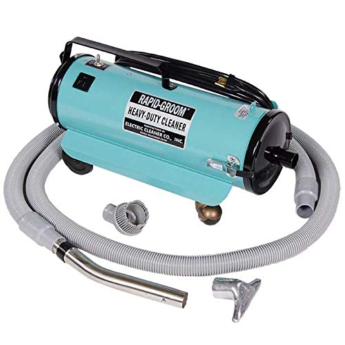 Electric Cleaner Co Rapid Groom Heavy-Duty Horse Vacuum