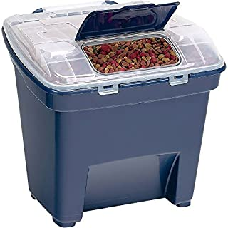 Bergan Smart Storage Food Storage, Navy, 50 lbs (Large)
