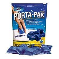 Walex TOI-91799 Porta-Pak con desodorante en gotas para desagües, perfume Sunglow (paquete de 10)