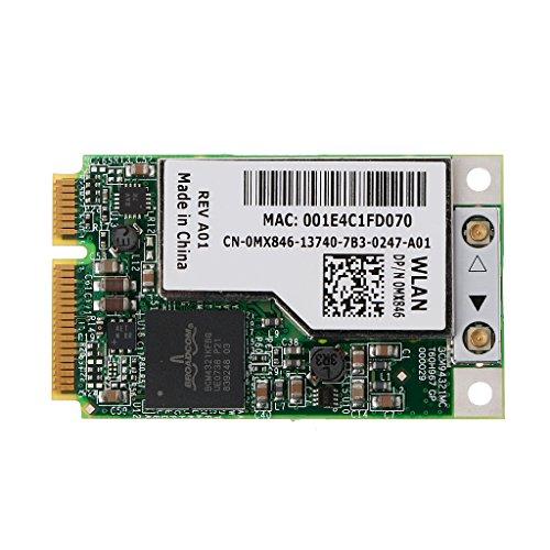 Lvyuanda BCM94321MC BCM4321 DW1505 Mini PCI-e Wireless WLAN WiFi Card MX846 GP53 NJ449 -