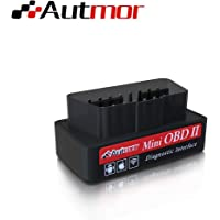 Autmor OBD2 WiFi Auto Diagnóstico de Coches, Mini