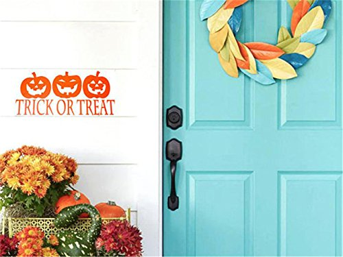 gtrsa Halloween Decal Pumpkin Door Decal Halloween Decor