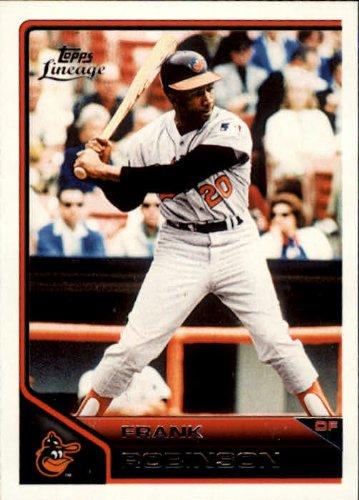 2011 Topps Lineage Baseball Card #182 Frank Robinson Near - Topps Frank Baseball Robinson