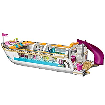 LEGO Friends Dolphin Cruiser Building Set 41015(Discontinued by manufacturer): Toys & Games