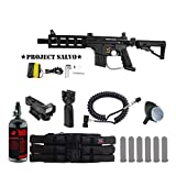 MAddog Tippmann U.S. Army Project Salvo w/E-Grip Tactical HPA Red Dot...
