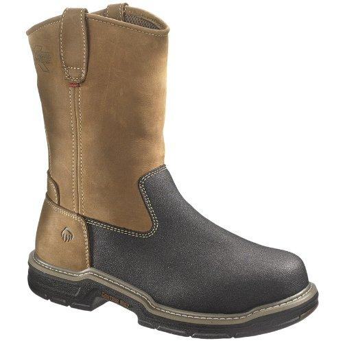 Wolverine Men's W02285 Corsair Boot, Brown, 9.5 M US (Wolverine Multishox Waterproof Steel Toe)