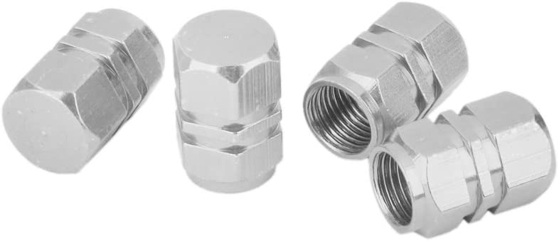 as described Red Trucks Bike and Bicycle Motorcycles Metal Round Top B Baosity 4x Chrome Car Wheel Tyre Tire Air Valve Caps Stem Cover Screw Lug Nut Bolt fit for Cars SUVs