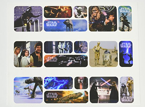 (Stars Wars Galaxy Edible Icing Image Cake Border Decoration (3 Strips))