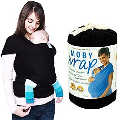 Adjustable Ergonomic Baby Sling Stretchy Wrap Carrier Breastfeeding Pouch Cotton