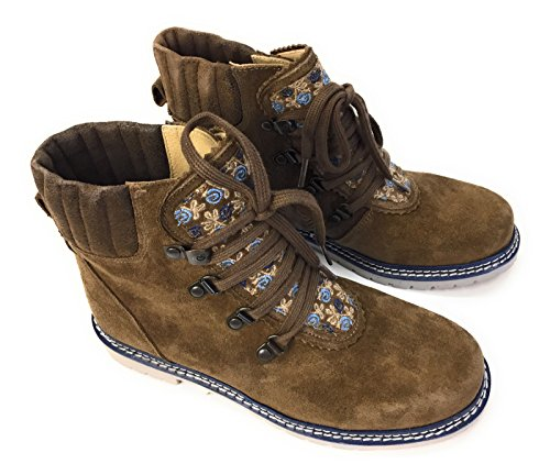 Spieth & Wensky Traditional Boots Ginger Crosta Marrone Blu Marrone