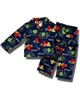 Angry Birds Coat style flannel pajamas for boys