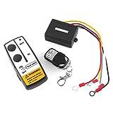 Ronben DC 12V Black Wireless 50FT Remote Control Kit for Car ATV