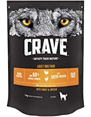 Over 29% off Crave Dog Complete with Turkey and Chicken 1 kg (Pack of 3) and more