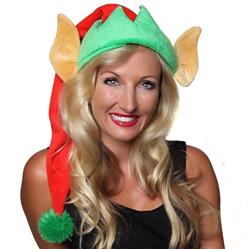 Making Believe Elf Ears Santa Hat, Adult]()