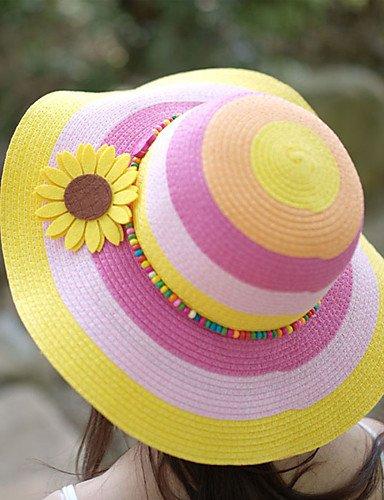 Suvsertu Women Flower Sunflowers Decorate Beads Striped Outd