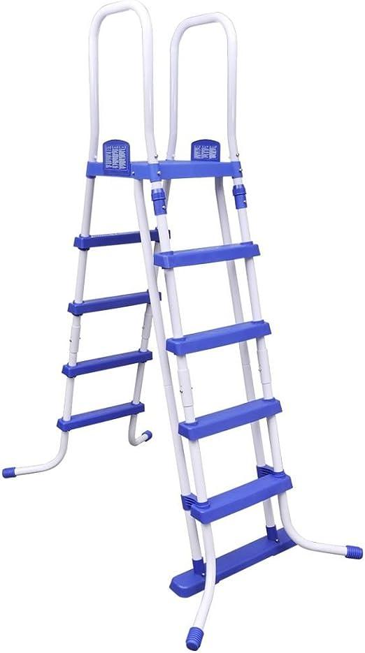 Bestway Escalera de acero para piscina, 58332: Amazon.es: Hogar