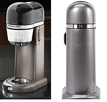 KitchenAid Personal Coffee Maker Machine – Silver KCM0401CCU