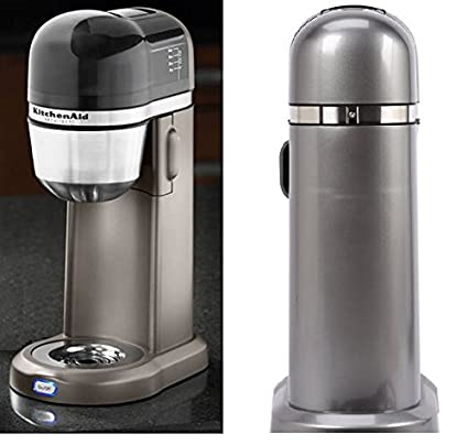 Amazoncom Kitchenaid Personal Coffee Maker Machine Silver