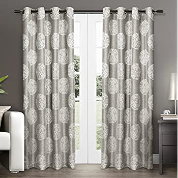 gray and remarkable grey of curtain miller interior nicole in curtains medallion ash pair home cream