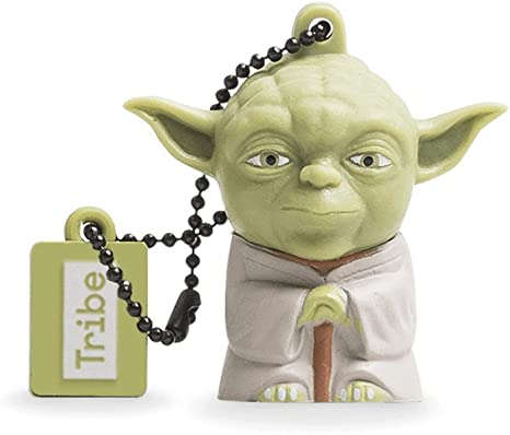 Llave USB 8 GB Yoda - Memoria Flash Drive 2.0 Original Star Wars ...
