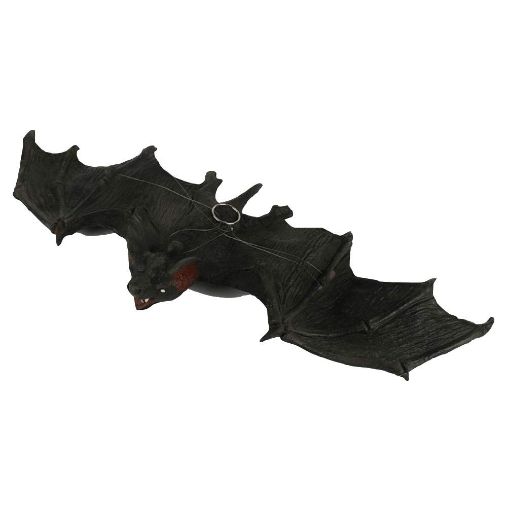 friendlyy Halloween Bats Ghost Festival Bars Haunted House Patches Simulation Pu Rubber Horror Bat Hanging Ornaments Large
