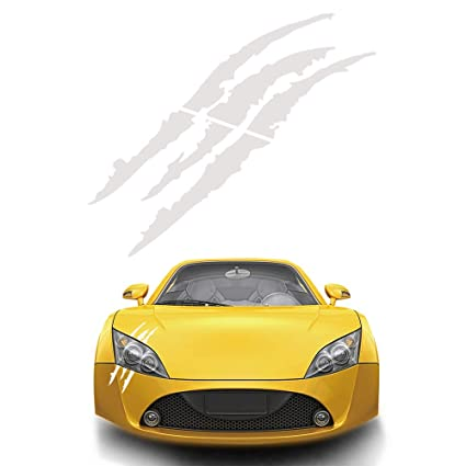 Genuine brand vinyl sticker//decal for sports cars ViaVinyl Claw marks headlight decal AVAILABLE IN FOUR COLORS!
