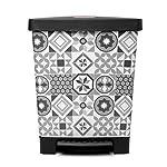 Tatay-Cubo-de-Pedal-Cubik-23L-de-Capacidad-Pedal-Retractil-de-Polipropileno-Libre-de-BPA-Bolsa-Basura-30L-Color-Hydraulic–Medidas-335-x-30-x-39cm