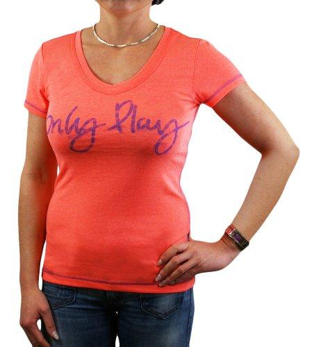 Only Play Fitness–Camiseta naranja