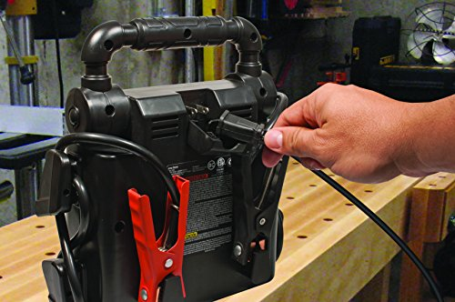 STANLEY J5C09 Power Station Jump Starter: 1000 Peak/500 Instant Amps, 120 PSI Air Compressor, Battery Clamps by STANLEY (Image #5)