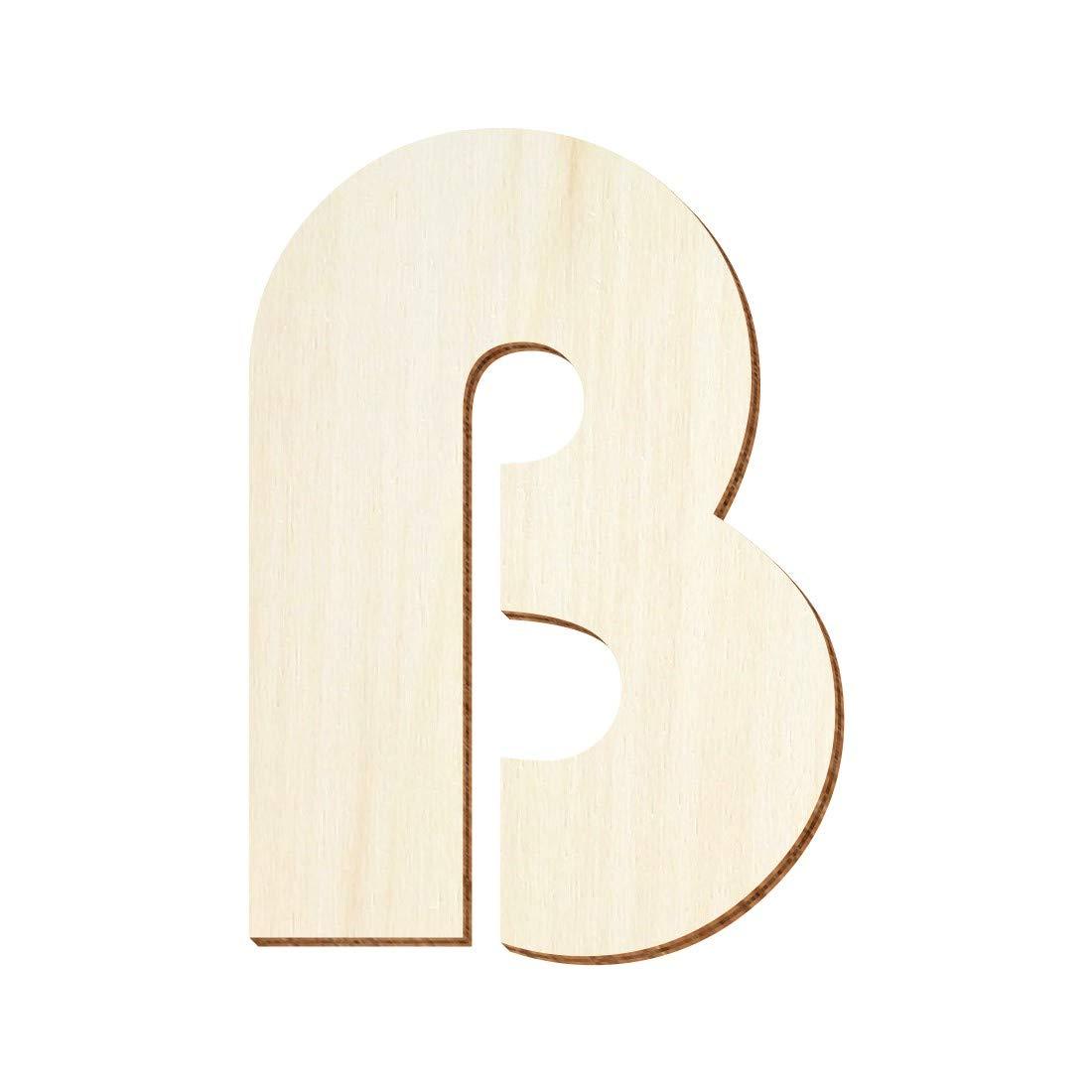 6 cm N Rayher Hobby 6194300 Holz-Buchstabe