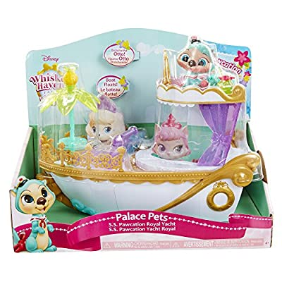 Palace Pets S.S. Pawcation Royal Yacht Playset: Toys & Games
