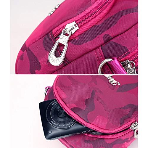Tracolla a Blu CHENGYI a per per Tracolla Casual Fotocamera Donna da Borsa Viaggio WrqqXCnY