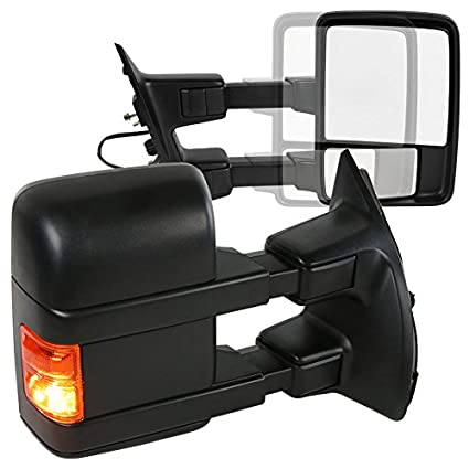 amazon com ford f250 superduty manual extend towing mirrors amber rh amazon com Army Signal Mirror Signal Mirrors Survival