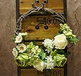 Decorative Seasonal Front Door Wreath Best Seller - Handcrafted Wreath green