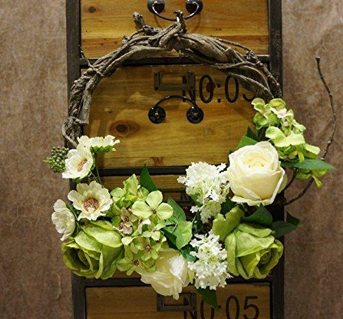 Decorative Seasonal Front Door Wreath Best Seller - Handcrafted Wreath green by SogYupk