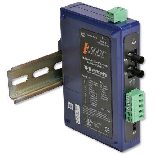 Ind 232/422/485 To Single-mode Fiber, St, Din Rail by B&B Electronics