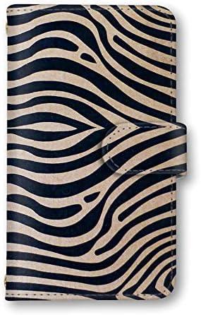 AQUOS zero2 SH-01M / SHV47 国内生産 カード スマホケース スマホカバー 手帳型 携帯ケース 携帯カバー SHARP シャープ アクオス ゼロツー 【A.ゼブラ】 ゼブラ シマウマ アニマル animal_030