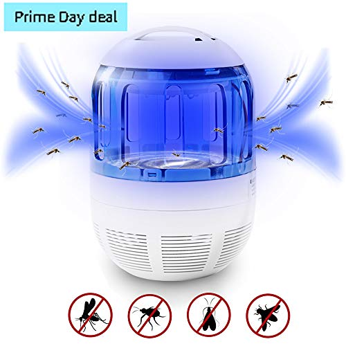 Nobug Electronic Bug Zapper Indoor, Mosquito Trap Fly Insect Killer UV Light Lamp with 360 Degree Escape-Proof Mesh Design for Indoor