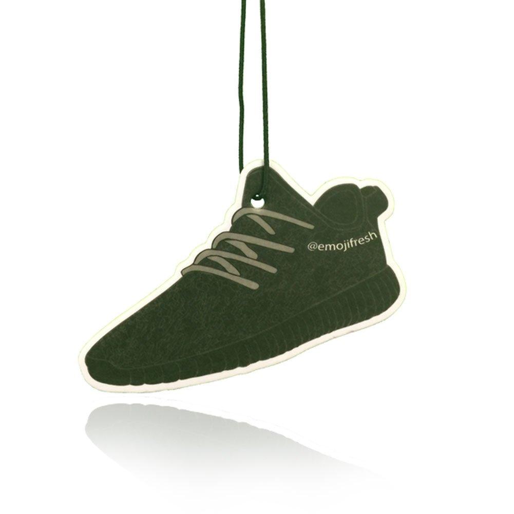 Amazon.es: emojifresh yeezy-style Trainer Zapatillas ambientador para coche (negro) - yeezy-inspired Premium ambientador para su motor, hogar, oficina, Van, ...